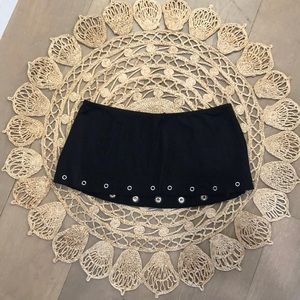 The Cutest Black Bebe Skirt